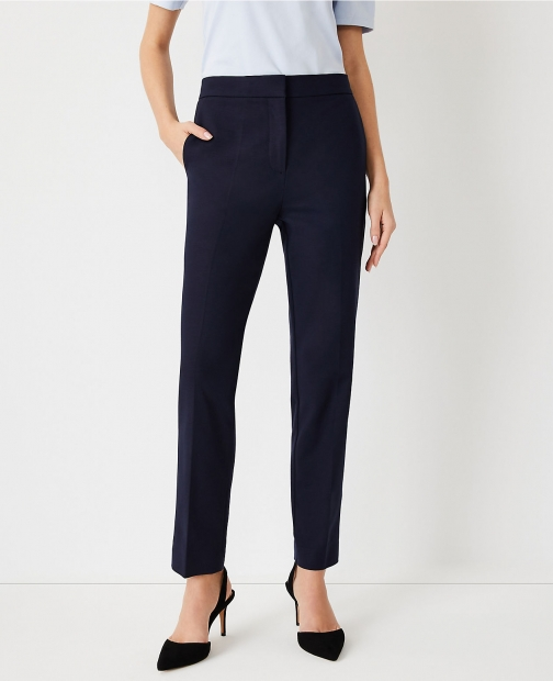 Ann Taylor The High Rise Ankle Pant Trouser