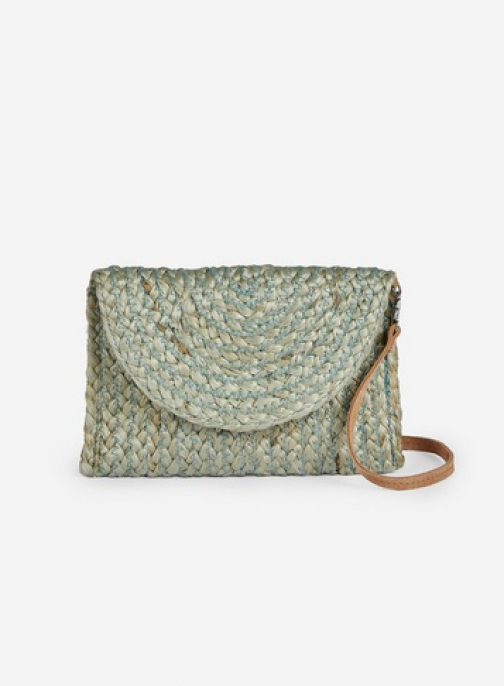 Pieces Green 'Becky' Cross Body Bag Crossbody Bag