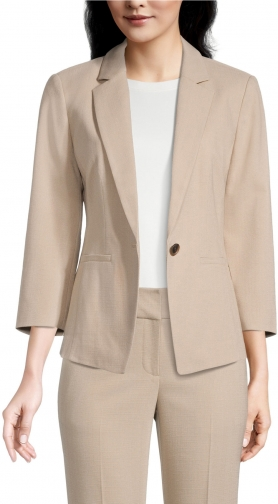 Ann Taylor Factory Petite Relaxed Blazer