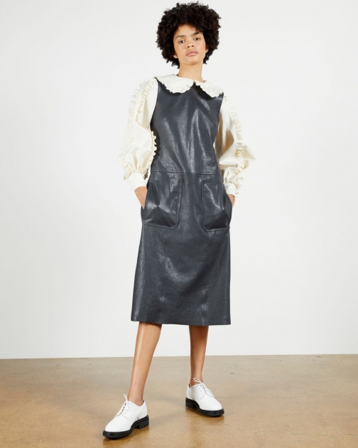 Ted Baker Leather Dress