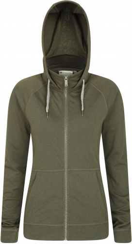 Mountain Warehouse Cheshire Womens Full-Zip - Green Hoodie