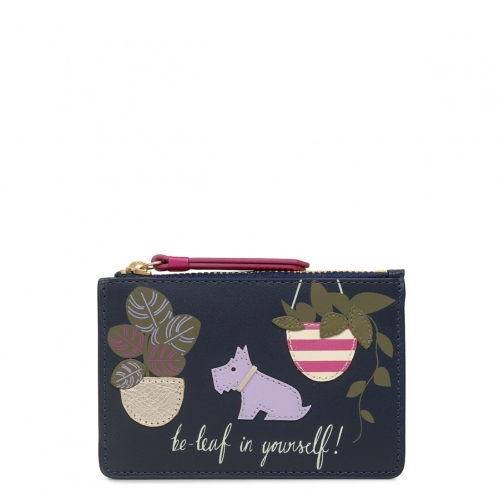 Radley Be-Leaf Yourself Small Zip-Top Coin Purse