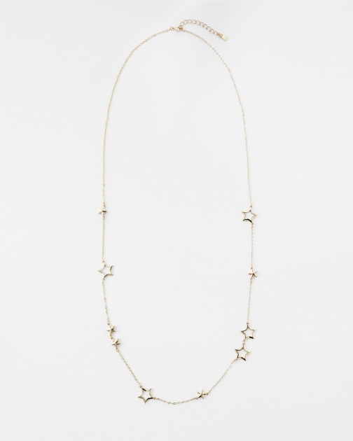 Ted Baker Interstella Long Star Necklace