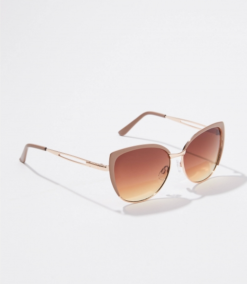 Loft Enamel Cateye Sunglasses