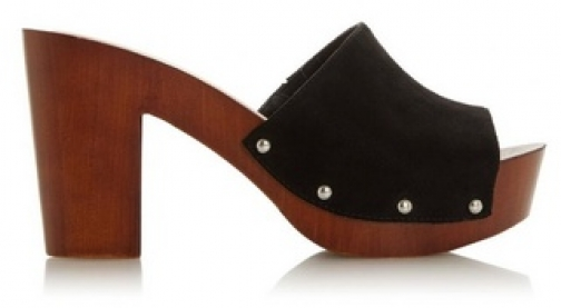 Head Over Heels By Dune Black 'Janna' Ladies Mid Heel Sandals