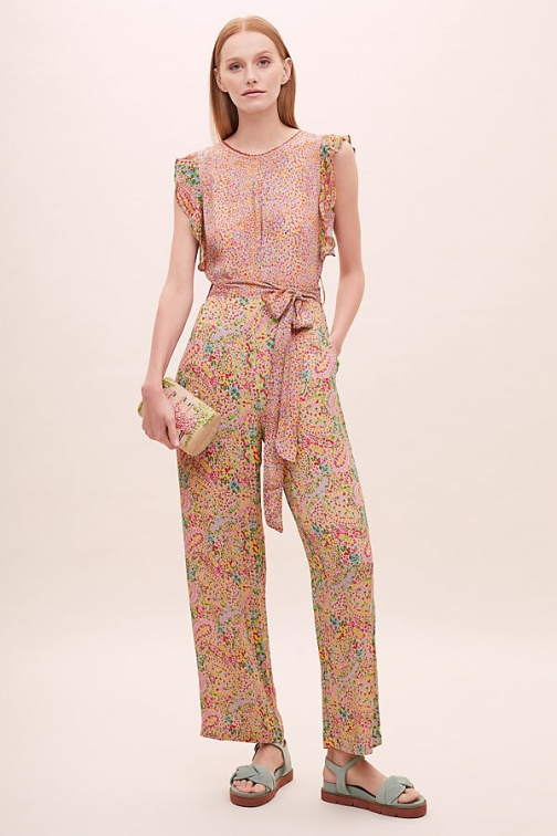 Bl-nk Carrie Printed Jumpsuit