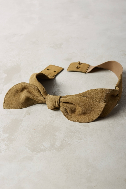 Anthropologie Brigitte Bow Belt