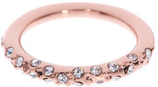Karen Millen Crystal Sprinkle Ring