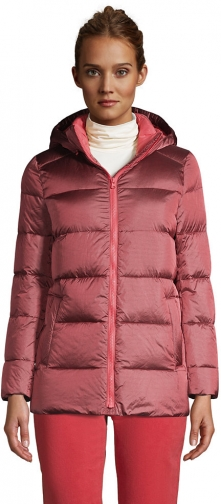 Lands' End Women's Wide Channel Down - Lands' End - Red - XS Jacket