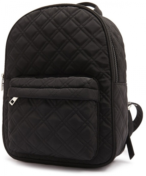 Forever21 Forever 21 Quilted Woven Black Backpack