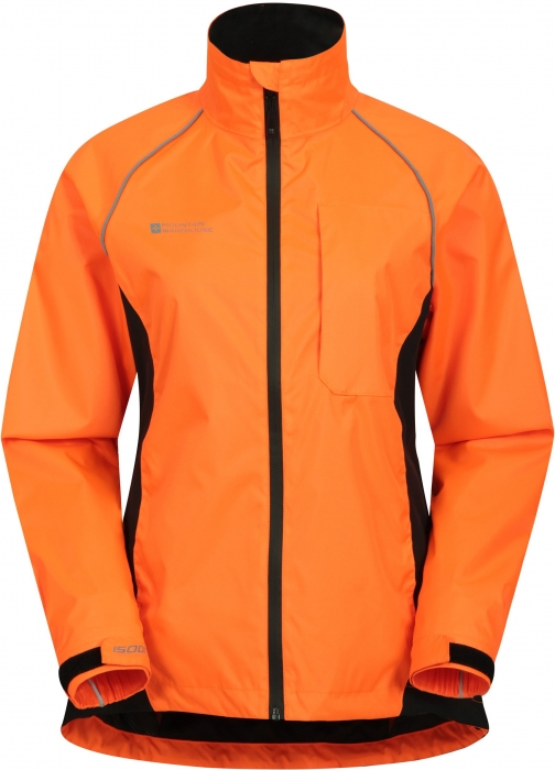 Mountainlife Adrenaline Womens Waterproof Iso-Viz - Orange Jacket