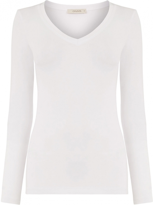 Oasis PLAIN V-NECK TOP Top
