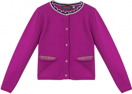 Catimini Girls Fine Knit Cardigan