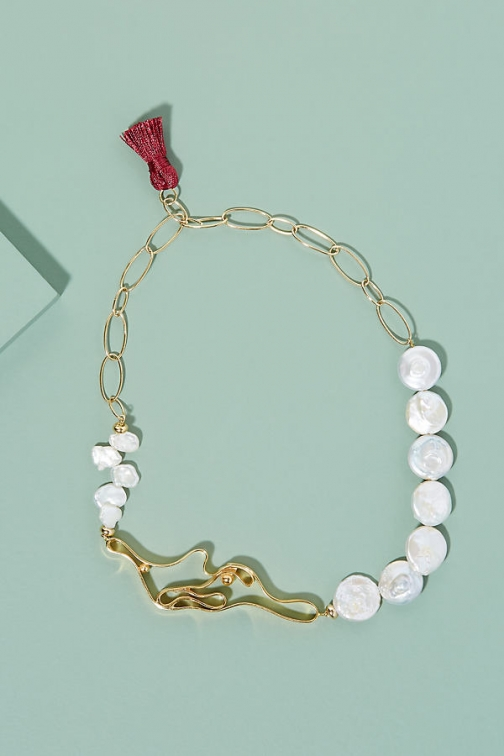 Anthropologie Nectar Nectar Winding Necklace