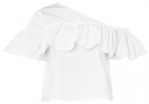 Dorothy Perkins Womens **Noisy May White Off The Shoulder - White, White Shirt