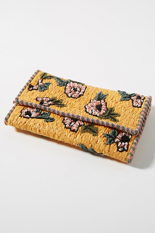 Anthropologie Out To Brunch Crossbody Bag