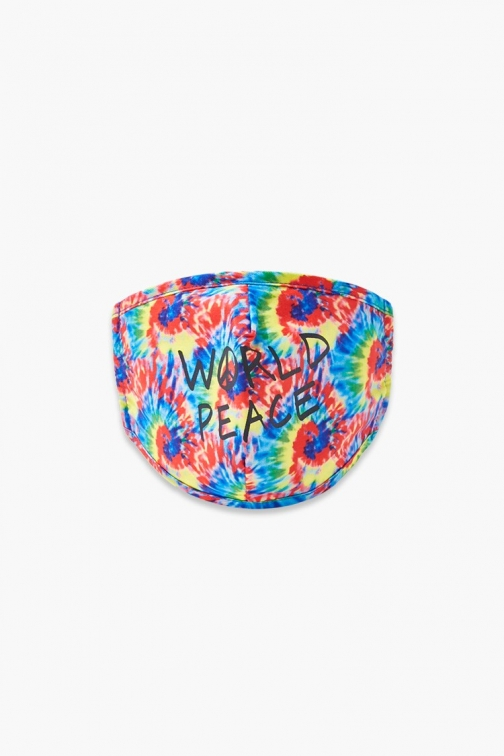 Forever21 Girls World Peace Face Mask (Kids) At Forever 21 , Red/multi IGNORE