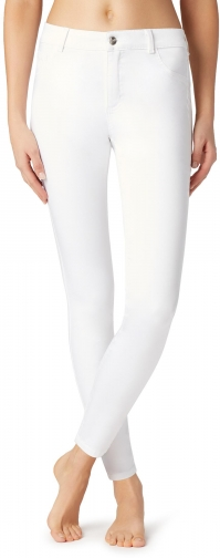 Calzedonia - Sexy-Slim-Fit Lightweight , L, White, Women Jeans