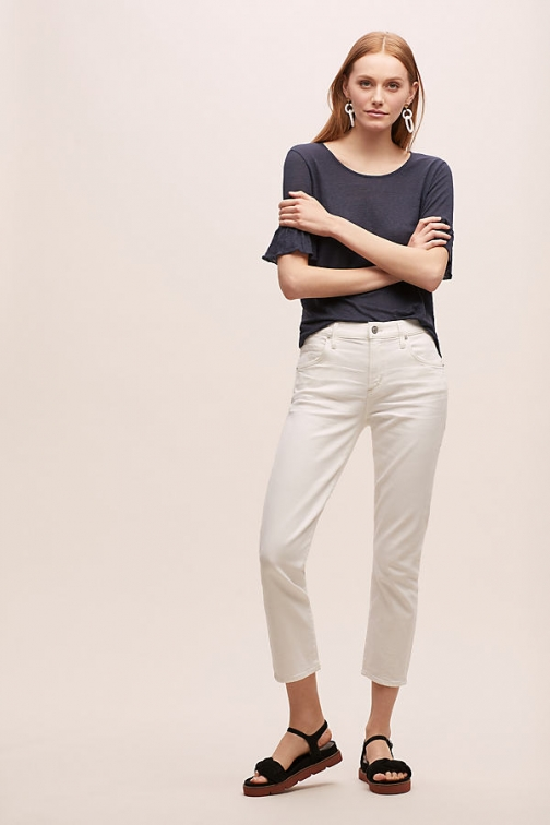 Citizens Of Humanity Elsa Mid-Rise Slim-Straight Jeans