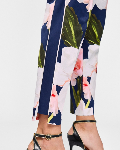 Ted Baker Chatsworth Bloom Tapered Trouser