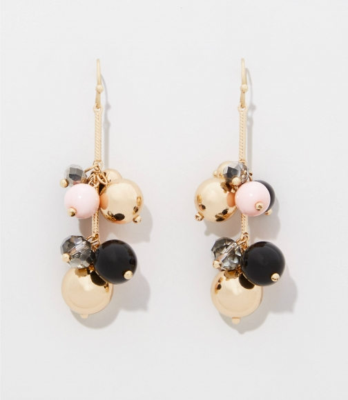 Loft Bead Cluster Drop Earring