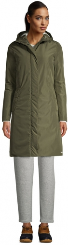 Lands' End Women's Insulated - Lands' End - Green - XS Raincoat