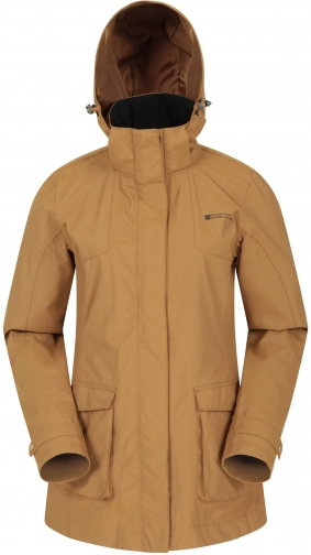 Mountain Warehouse Street Womens Waterproof Padded - Yellow Jacket