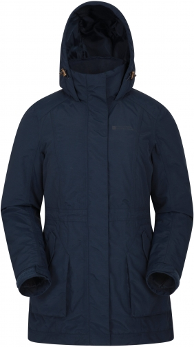 Mountain Warehouse Street Womens Waterproof Padded - Navy Jacket