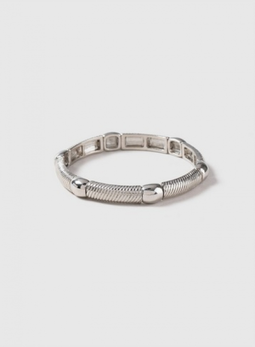 Dorothy Perkins Silver Metal Stretch Bracelet