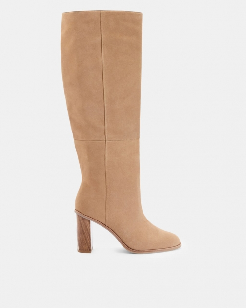 Ted Baker Suede Knee High Boots