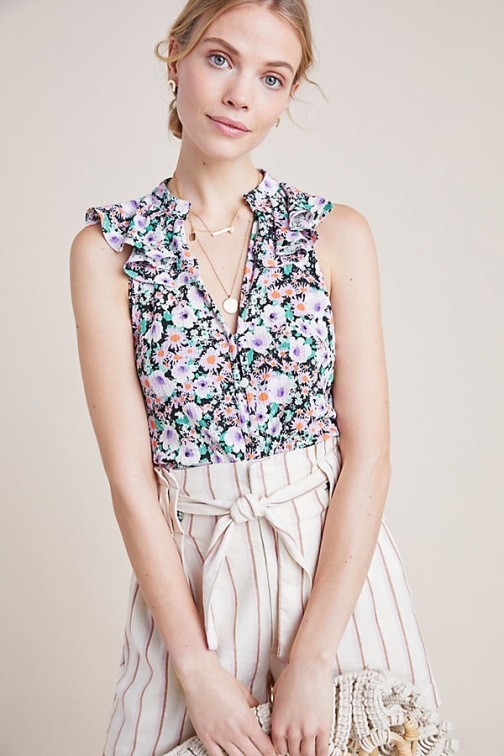 Anthropologie Chalmers Top Shirt