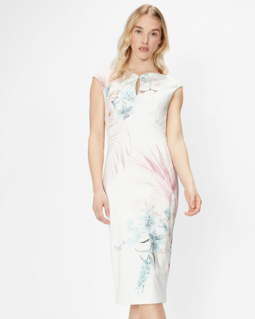 Ted Baker Serendipity Printed Bodycon Dress