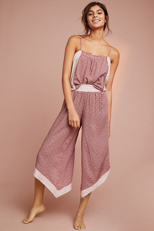 Floreat Two-Toned Sleep Trousers Trouser