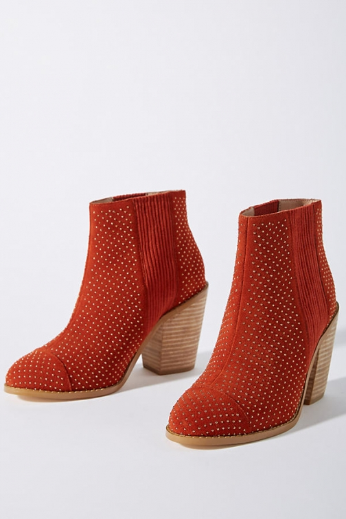 Anthropologie Micro-Studded Boot