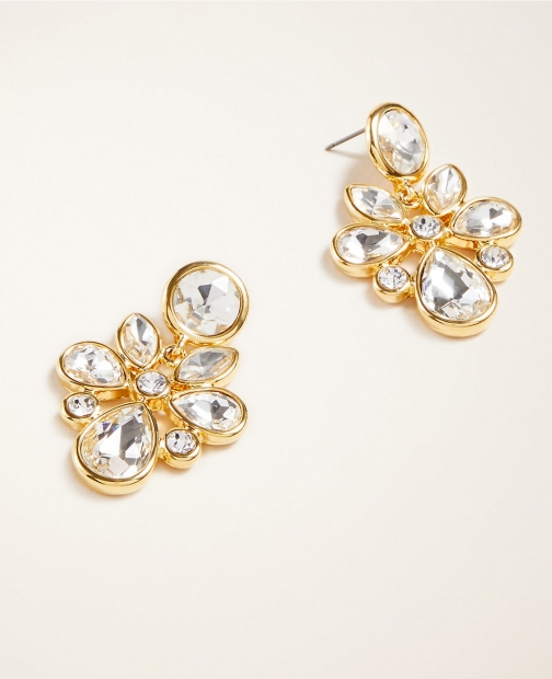 Ann Taylor Crystal Statement Earring