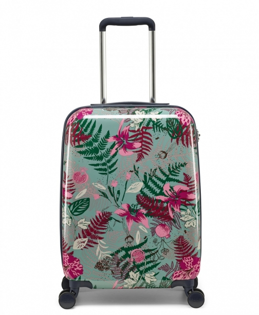 Radley Botanical Floral Small Four Wheel Cabin Case