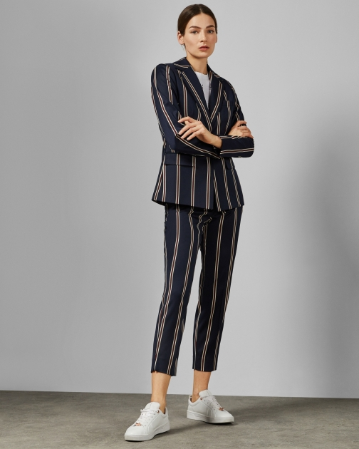 Ted Baker Striped Tailored Trouser