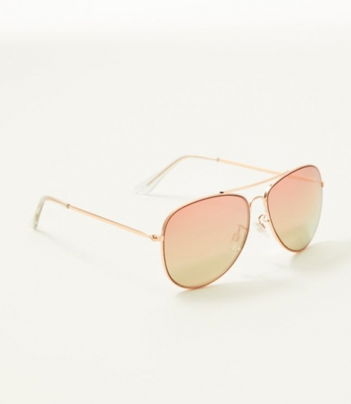 Loft Ombre Aviator Sunglasses