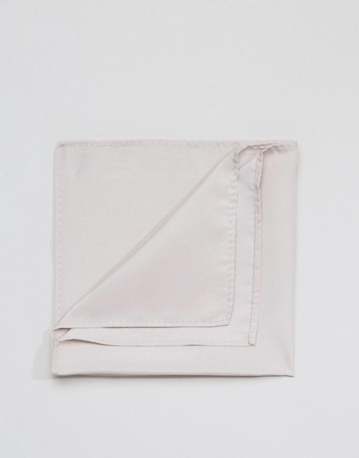 Asos Light Grey Pocket Square