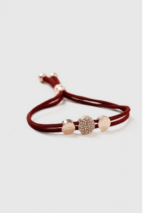 Dorothy Perkins Red Cord Adjustable Charm