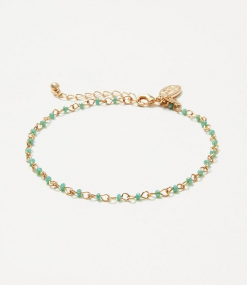 Loft Beaded Ankle Bracelet