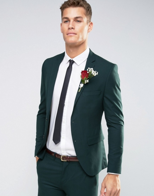 Selected Homme Superskinny Fit With Stretch Suit Jacket