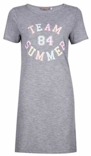 Dorothy Perkins Grey 'Team Summer' Nightie Pyjama
