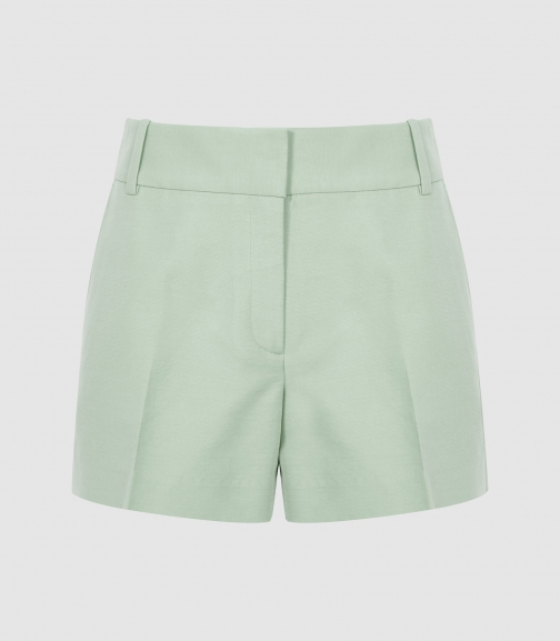 Reiss Lyla - Tailored Aqua, Womens, Size 8 Short