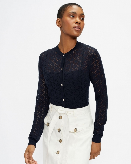 Ted Baker Stitch Detail Cardigan