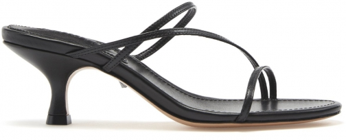 Schutz Shoes Evenise Sandal - 8.5 Black Leather Sandals