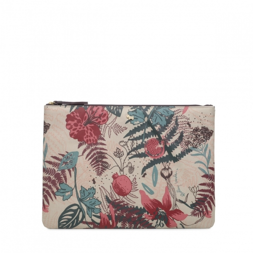Radley Botanical Floral Large Tech Pouch