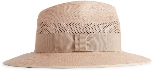 Reiss Trevill - Trilby Soft Pink, Womens, Size S/M Hat