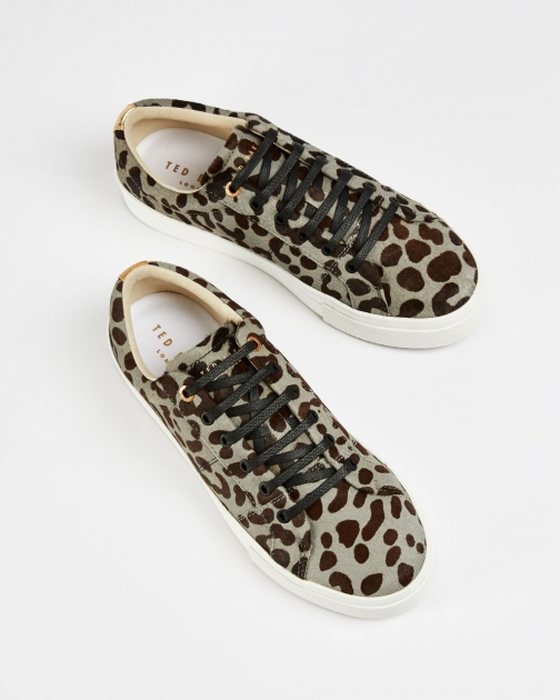 Ted Baker Exotic Print Trainer