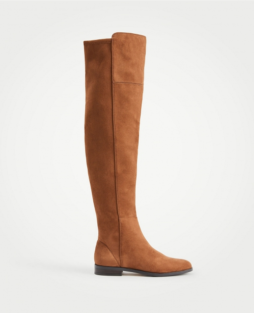 Ann Taylor Carlene Suede Over The Knee Boot